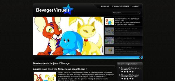 Élevages virtuels