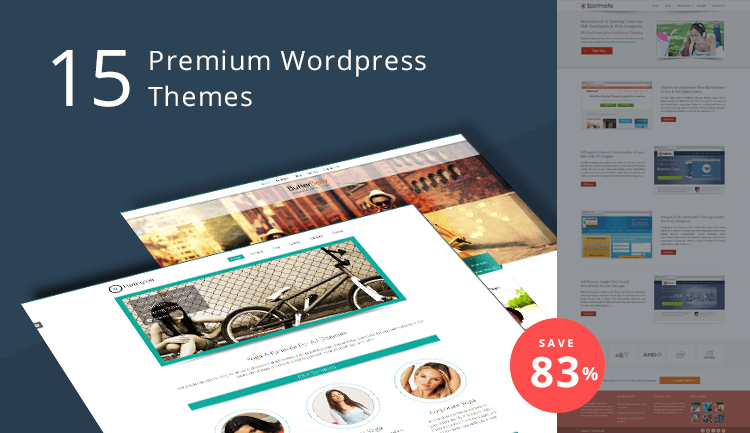 15 Premium WordPress Themes from Inkthemes