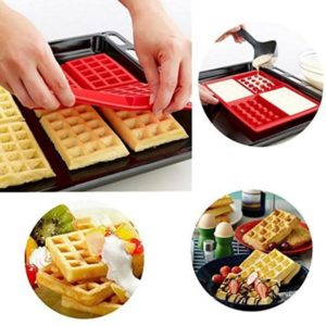 Moule gaufre silicone four